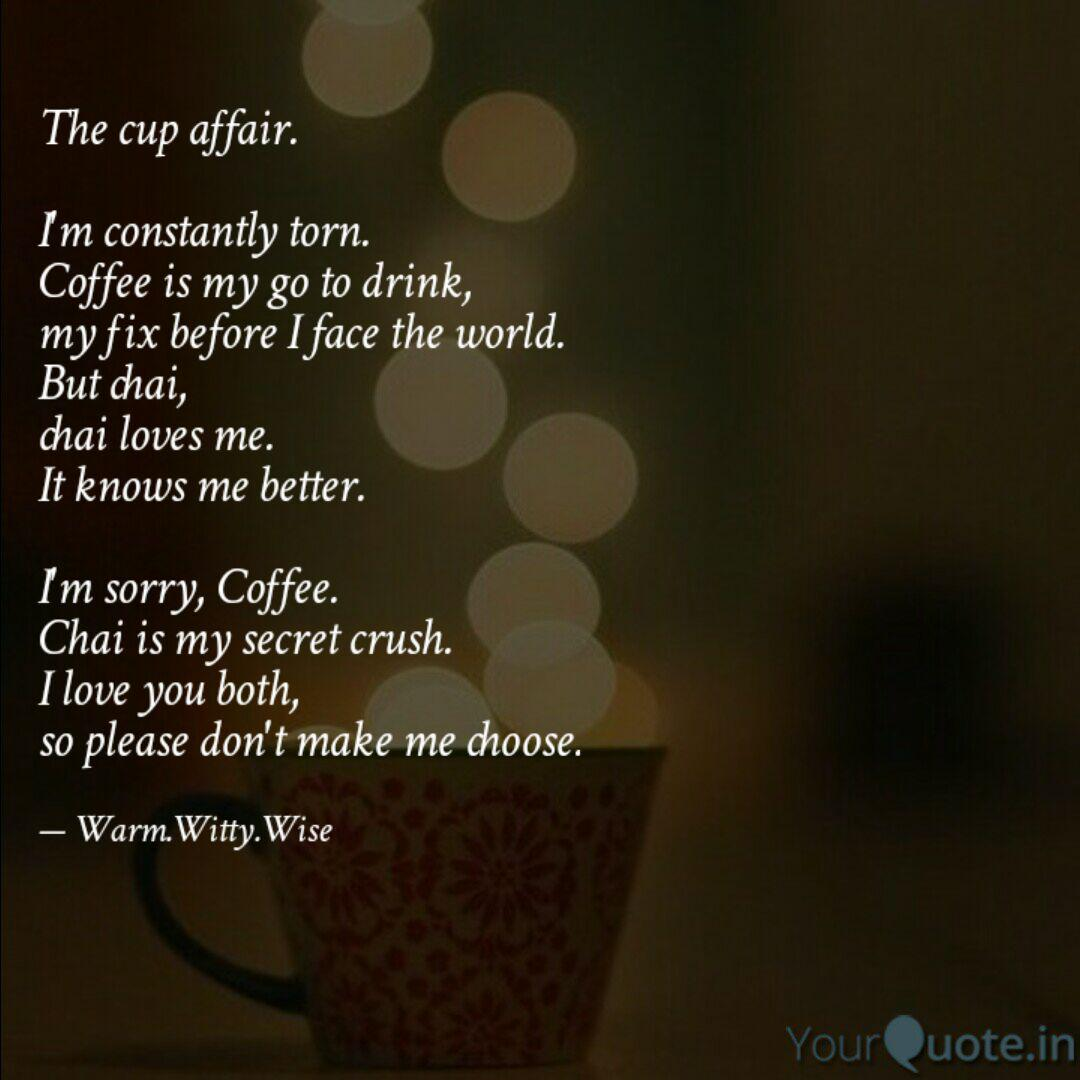 the cup affair i m cons quotes writings by indhumathi
