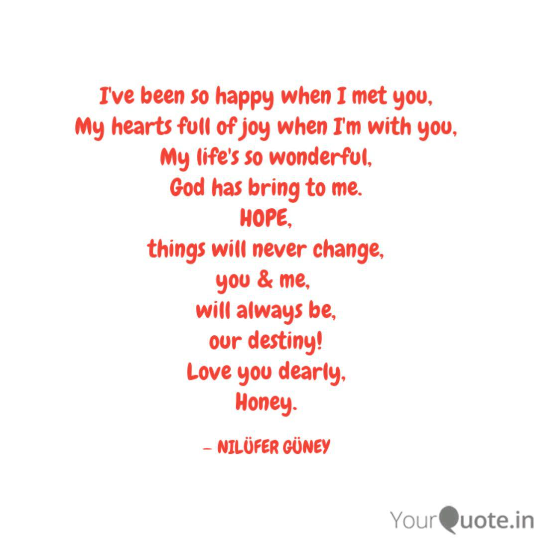 I\'ve been so happy when I... | Quotes & Writings by NILÜFER ...