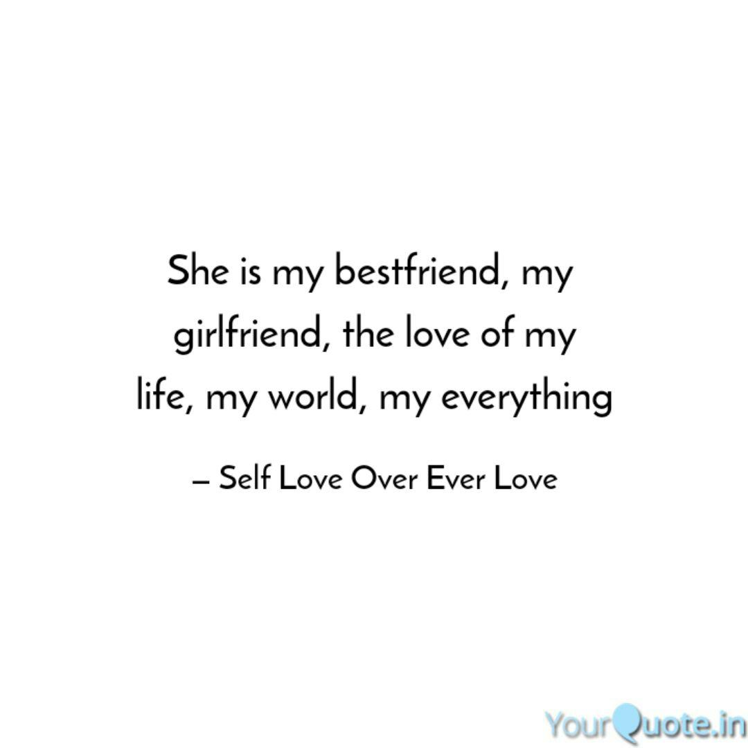 She Is My Bestfriend My Quotes Writings By Aman Marghani