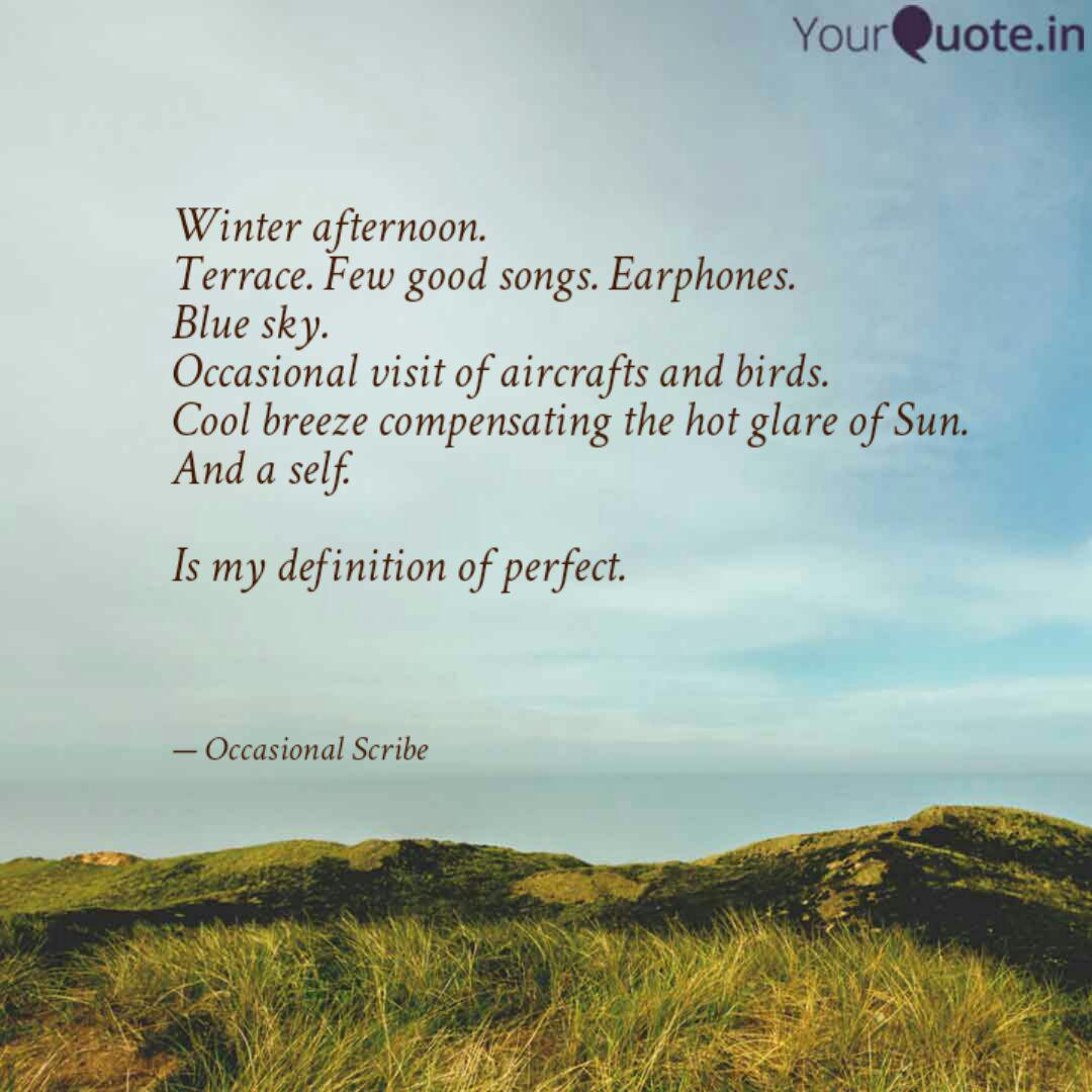 winter afternoon terrace quotes writings by anubhav