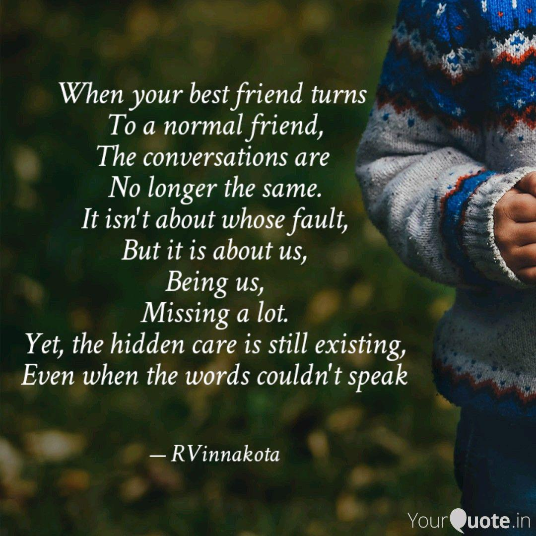 when your best friend tur quotes writings by roshni