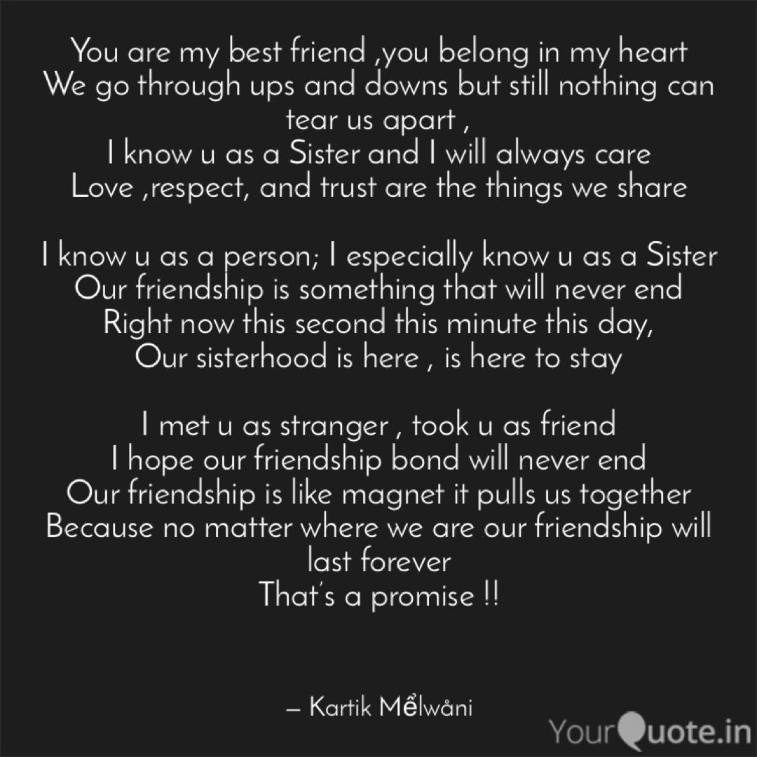 You Are My Best Friend Y Quotes Writings By Kartik Mểlwani Yourquote