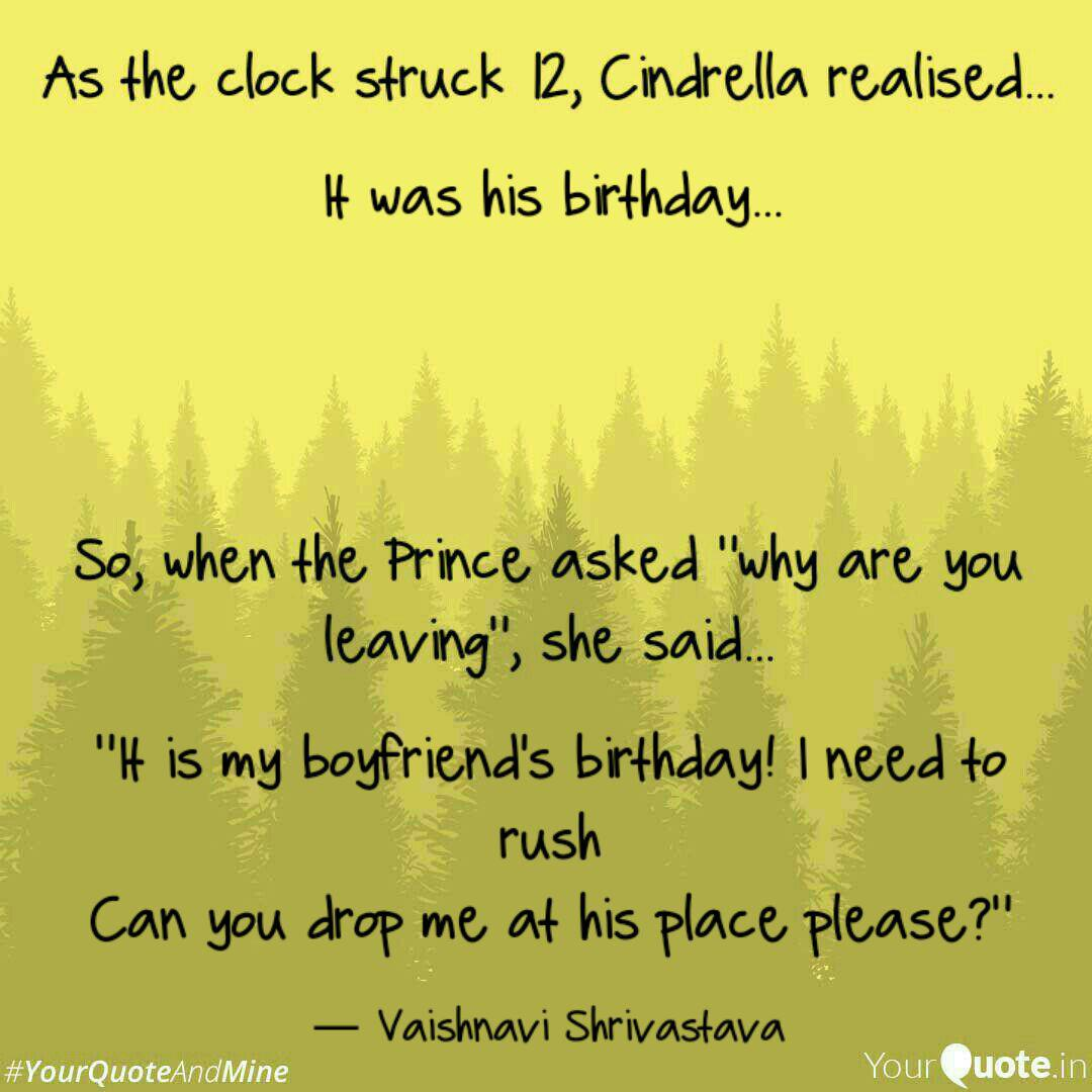 it was his birthday quotes writings by vaishnavi