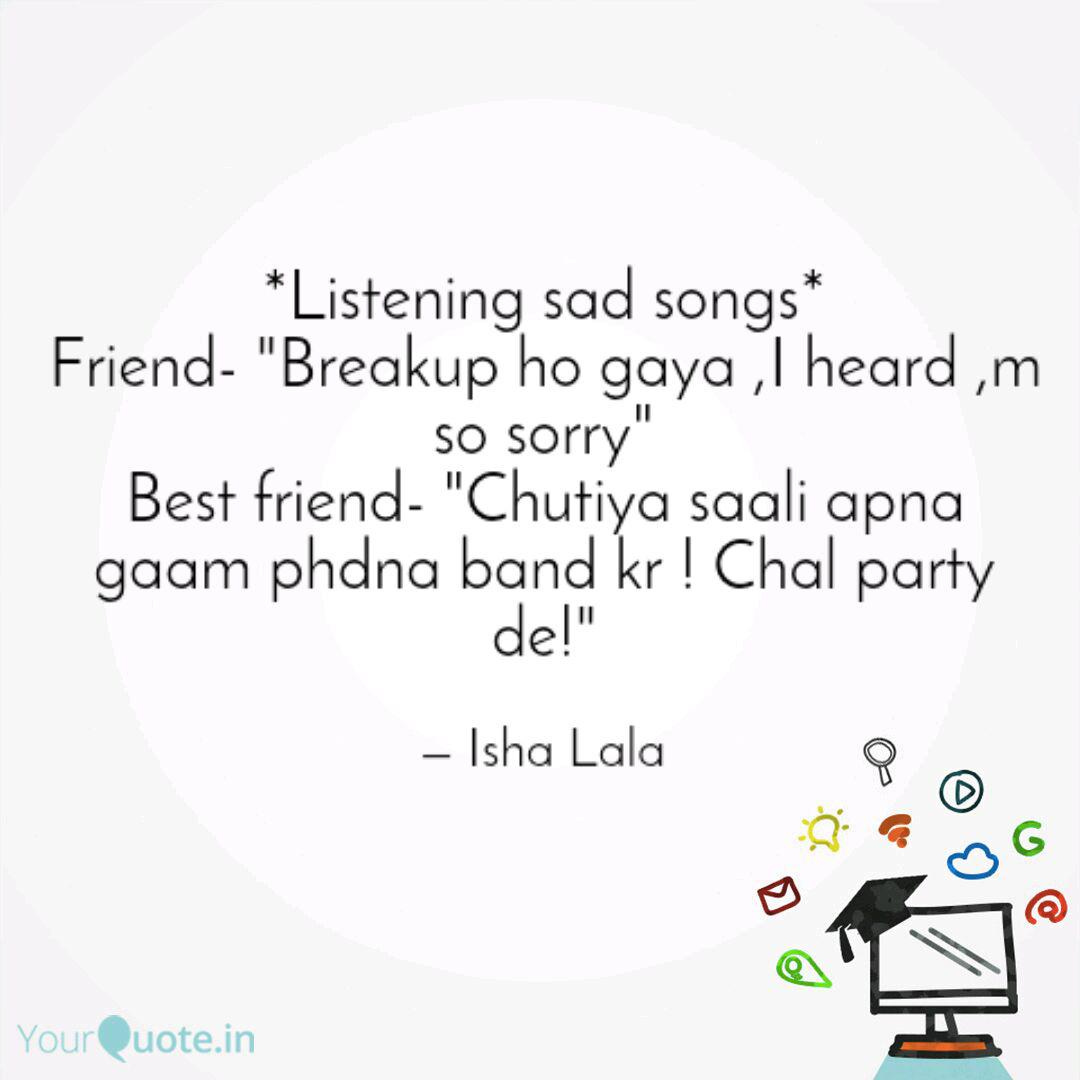Sad best friend songs