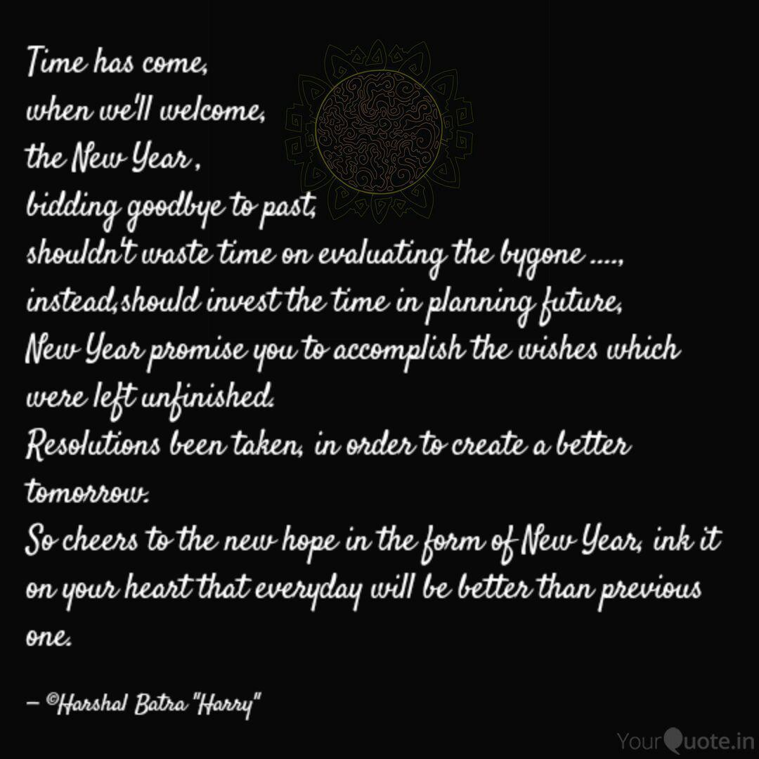 time has come when we l quotes writings by harshal batra