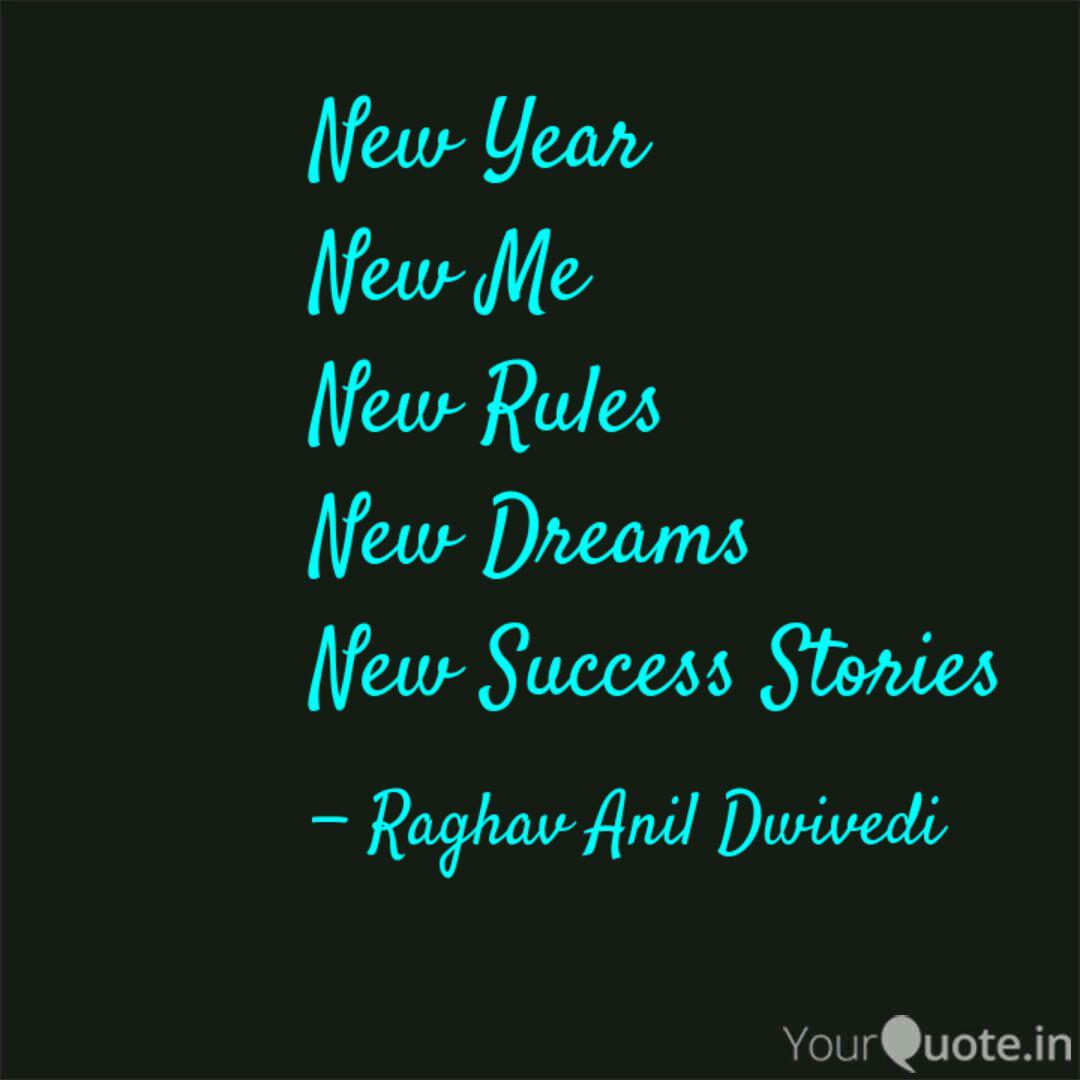 new year new me new rules quotes writings by raghav anil