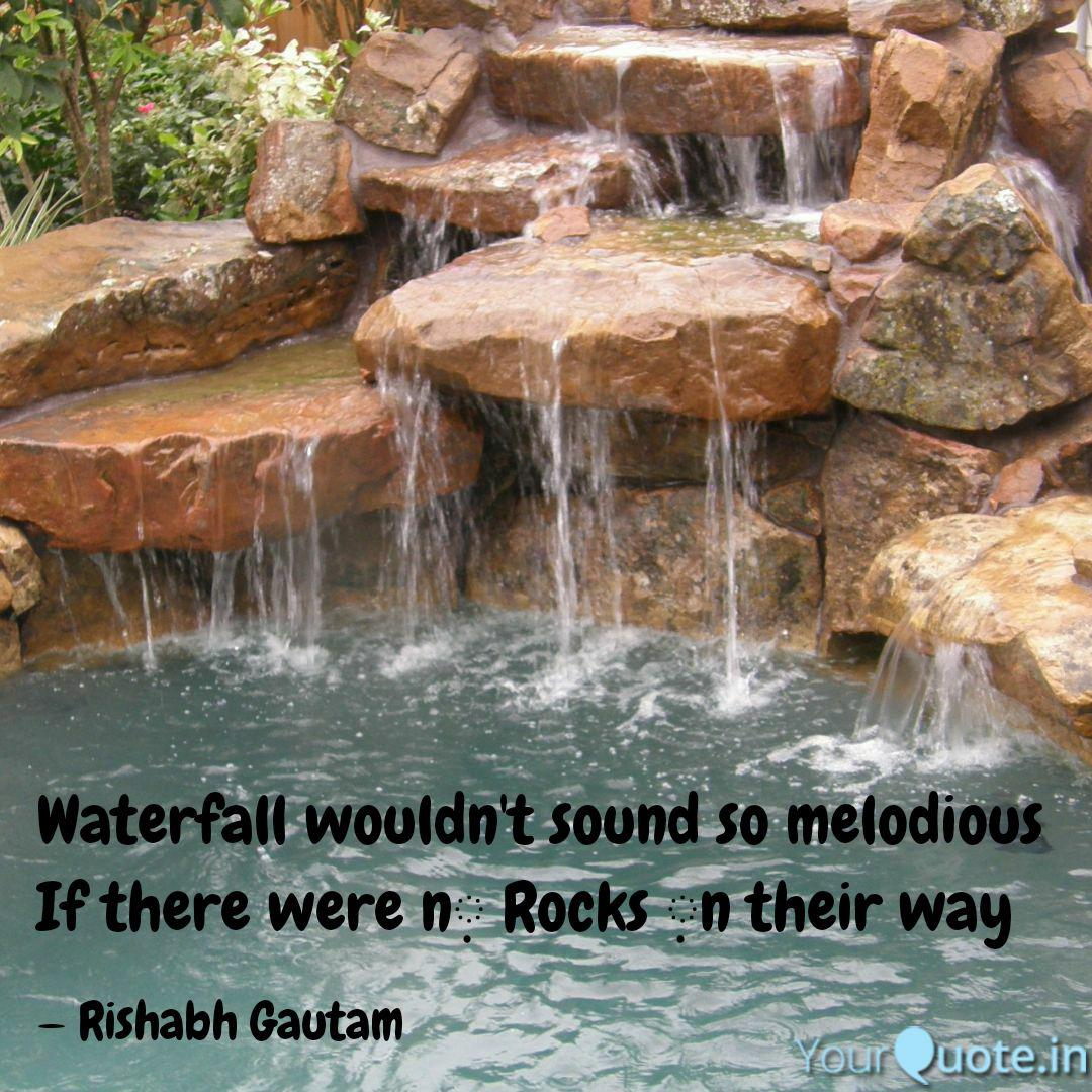 Waterfall Wouldn't Sound ...