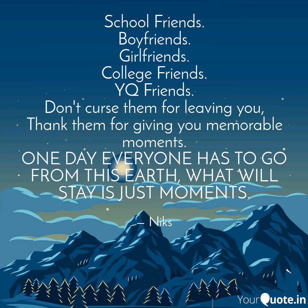 school friends boyfriend quotes writings by nikita sharma