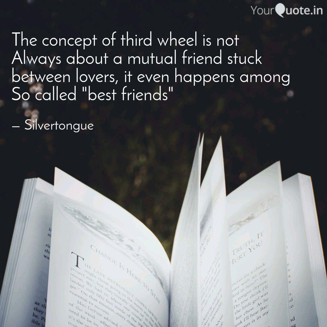 The Concept Of Third Whee Quotes Writings By Deepti Venugopal Yourquote