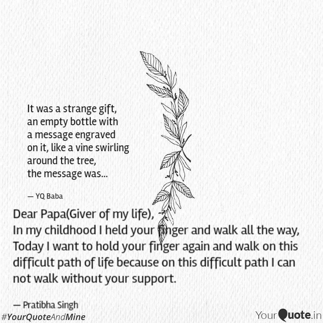 dear papa giver of my lif quotes writings by ishani singh
