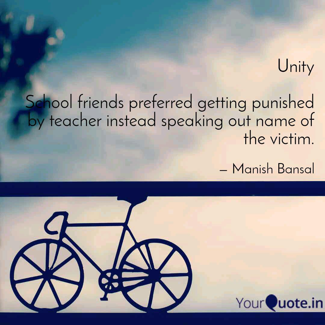 unity school friends pre quotes writings by manish bansal