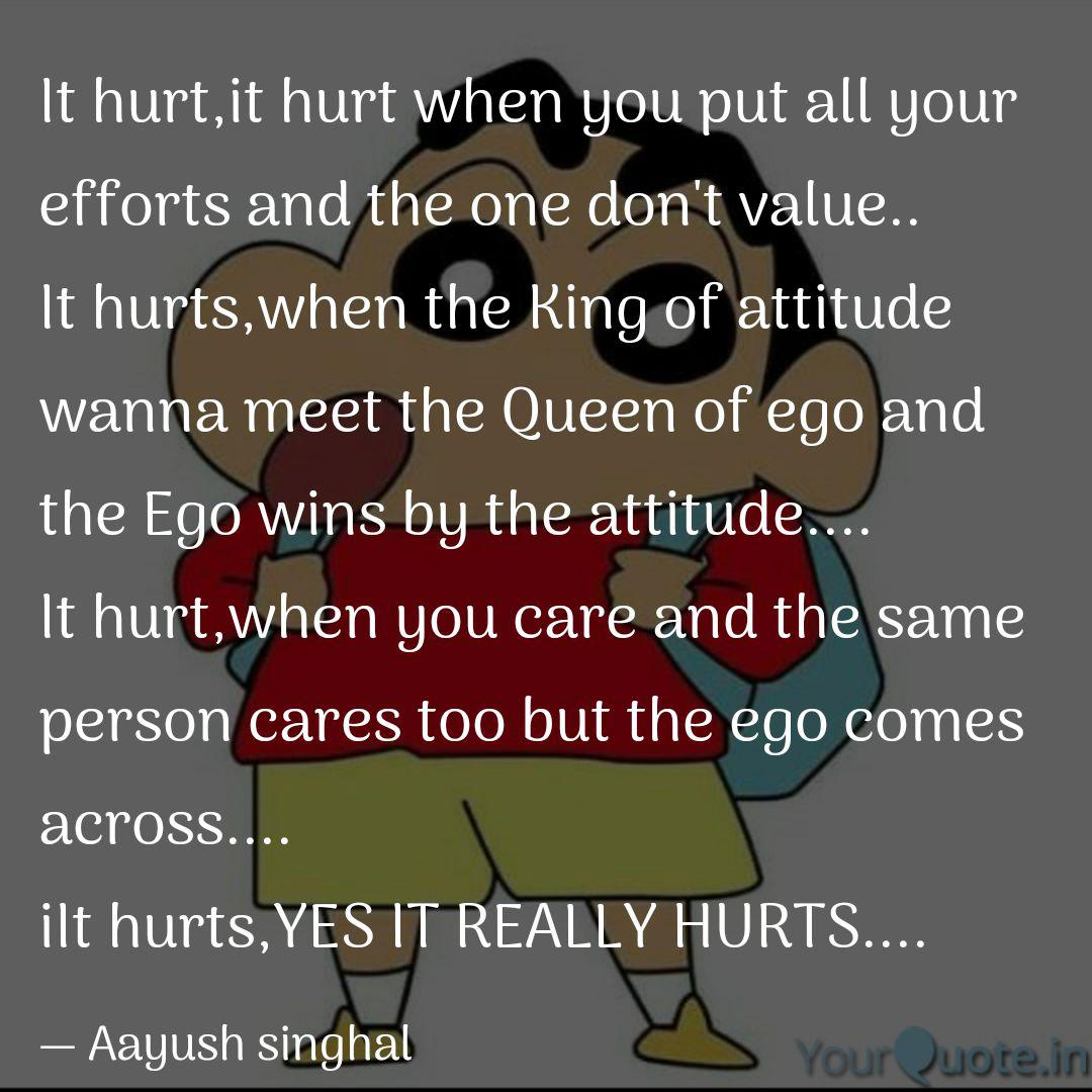 it hurt it hurt when you quotes writings by aayush singhal