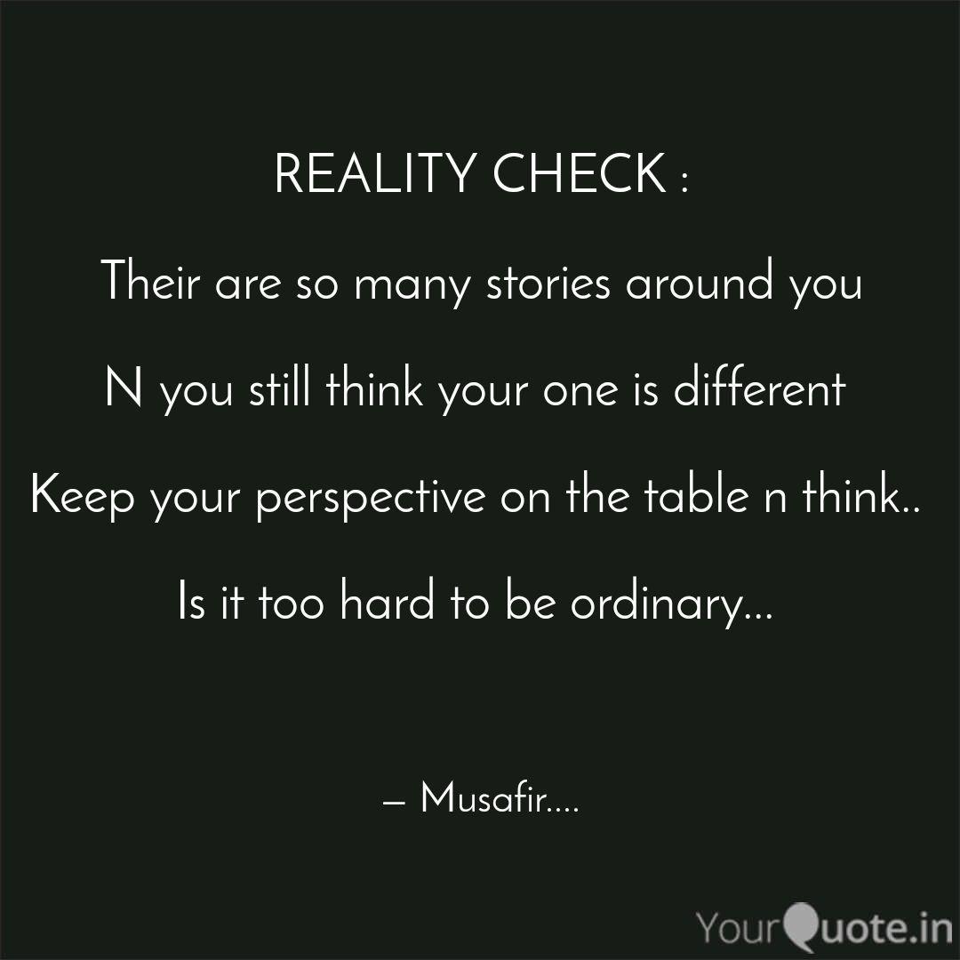 REALITY CHECK : Their ar...   Quotes & Writings by pankaj ...