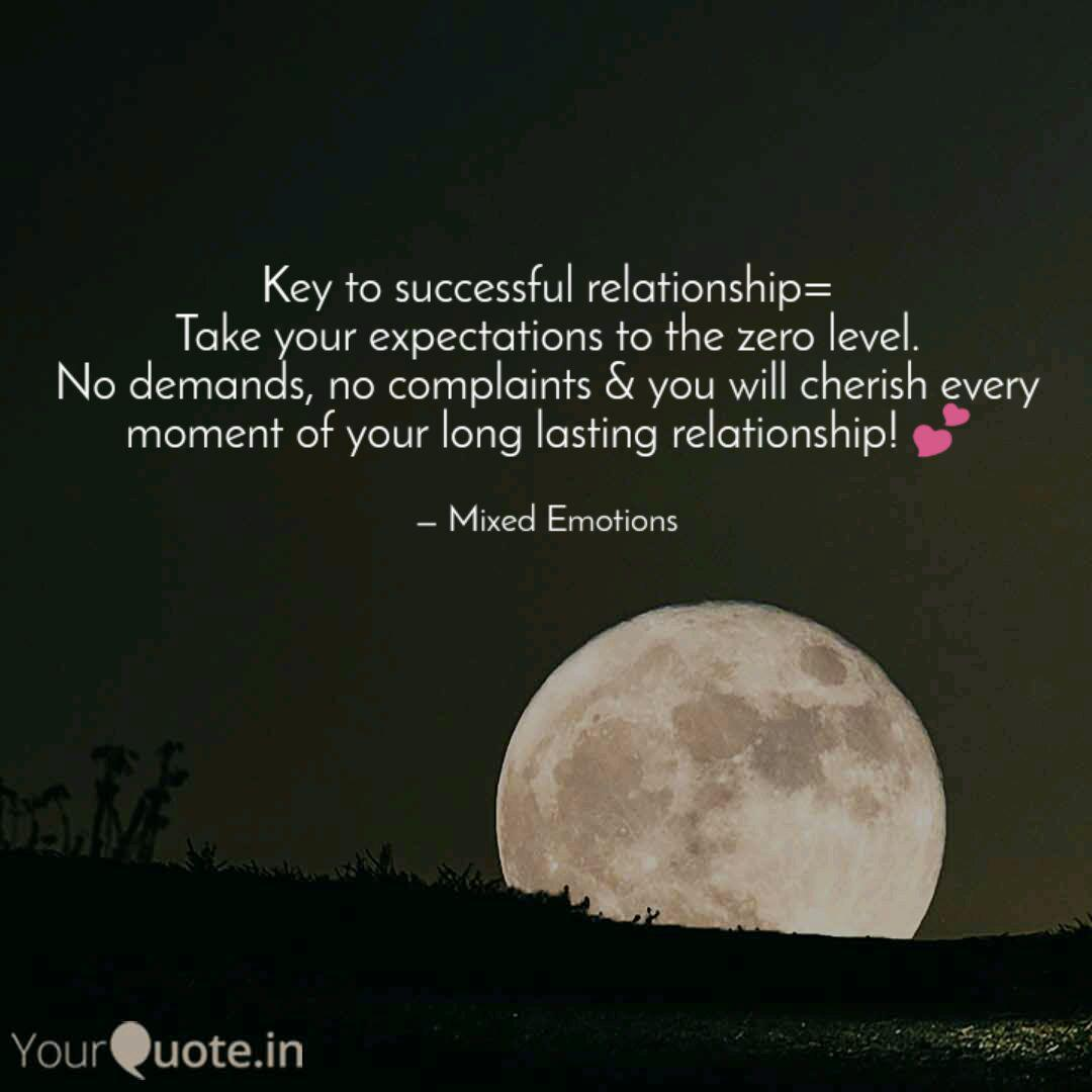 Key to successful relatio... | Quotes & Writings by Mixed ...