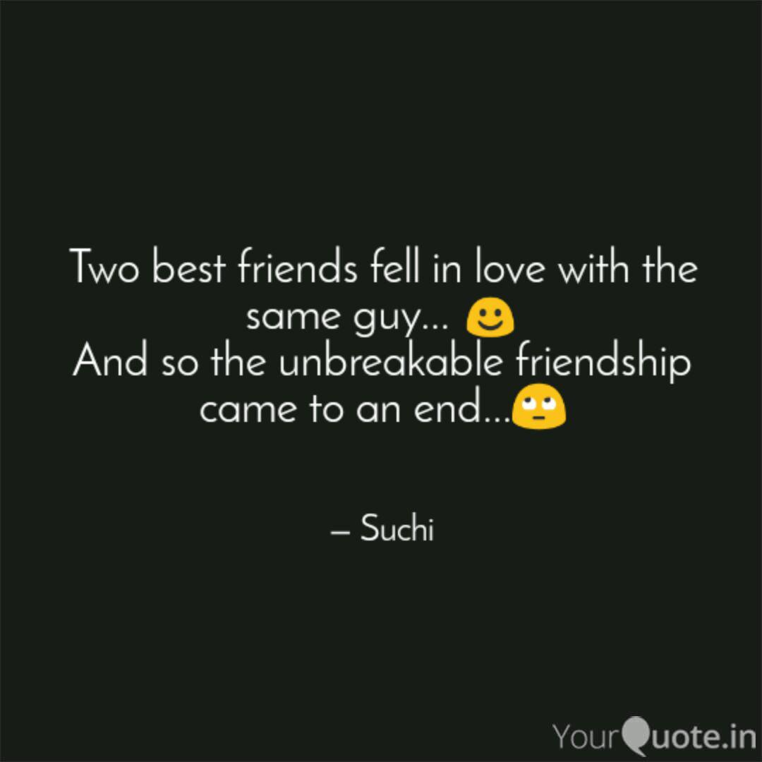two best friends fell in quotes writings by suchita patil