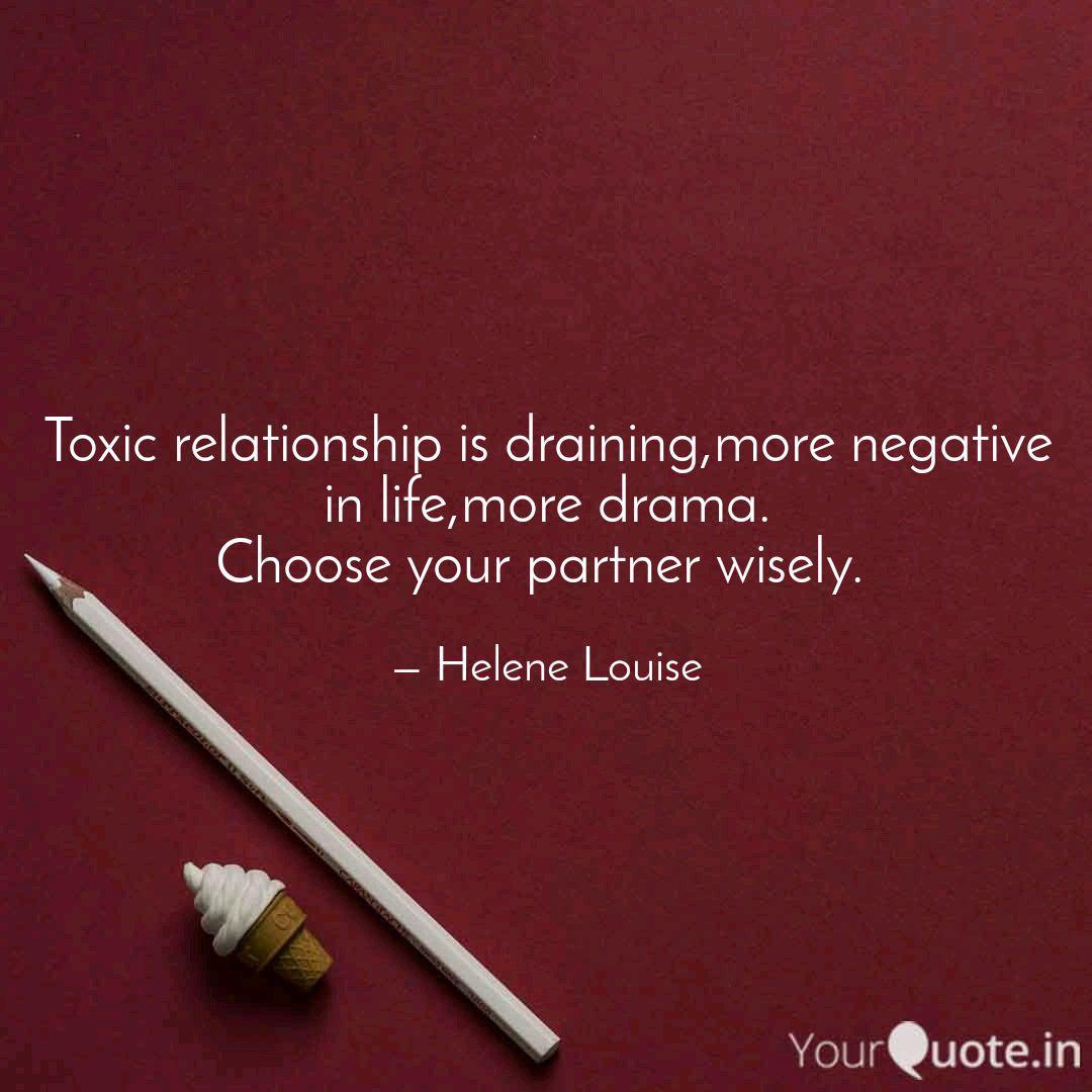 Relationship negative partner 51 Signs