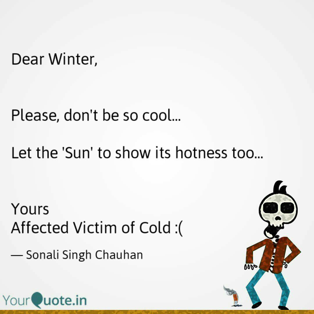 Go away quotes winter Winter quotes