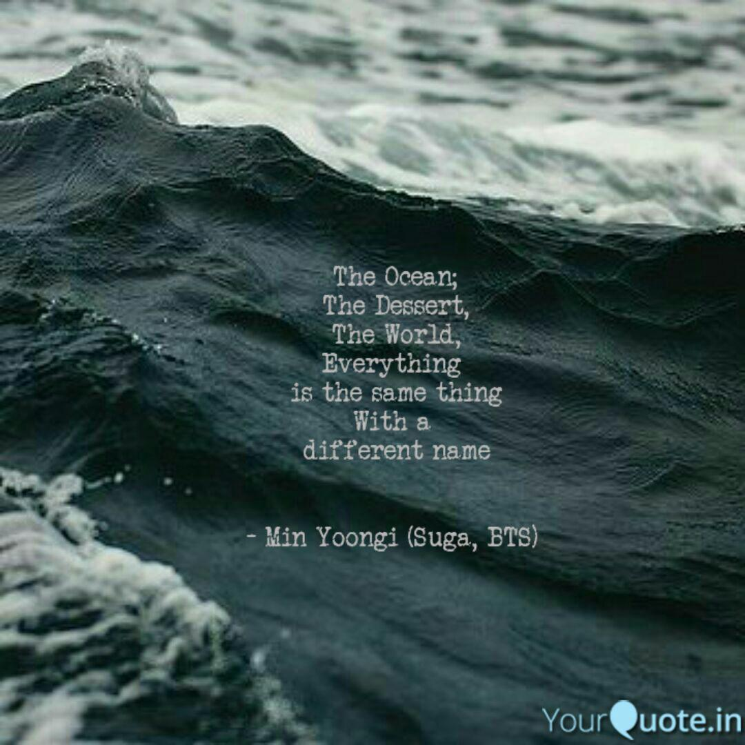 the ocean the dessert t quotes writings by bhavika