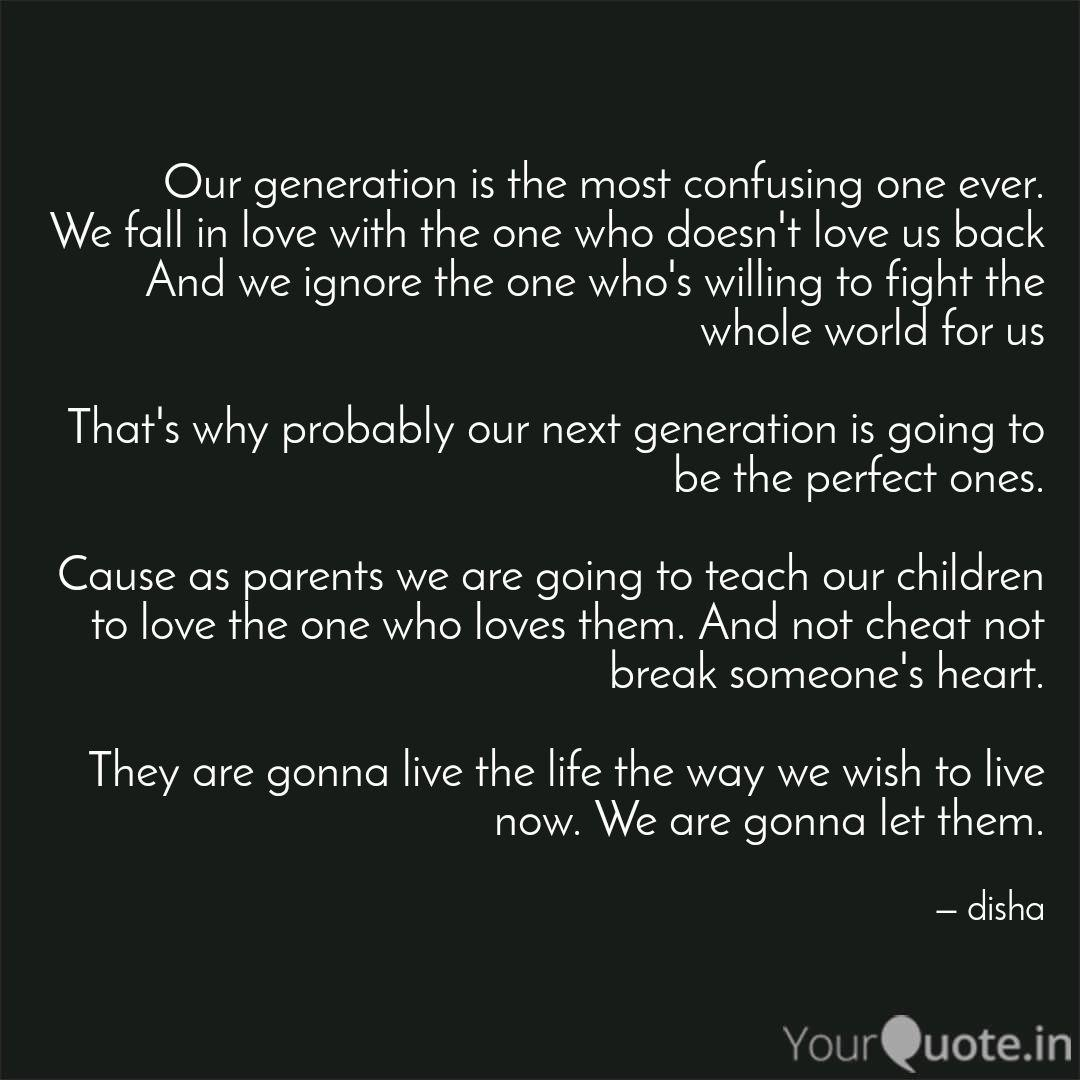Generation of love quotes