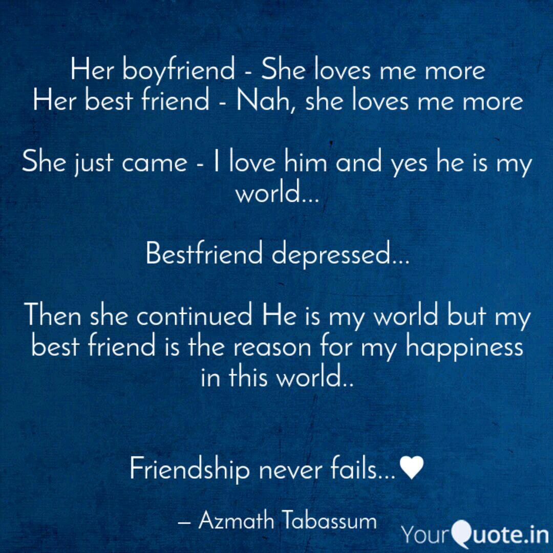 Best friend my boyfriend loves my My Boyfriend,