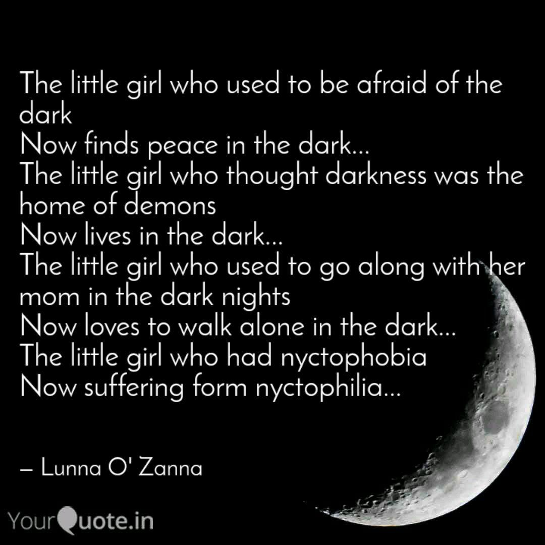 Best Nyctophilia Quotes Status Shayari Poetry Thoughts