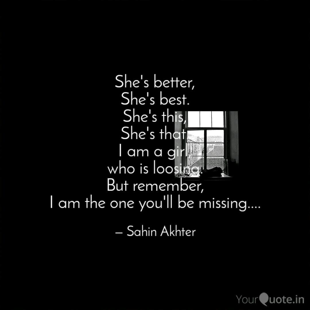Quotes shes the best 63 Cute