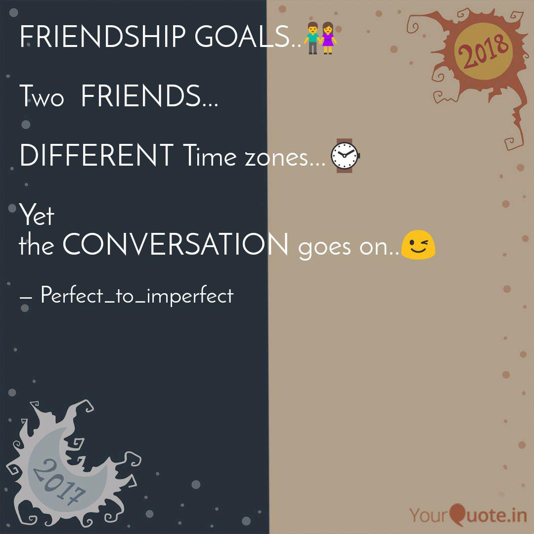 friendship goals 👫 two quotes writings by shreya verma
