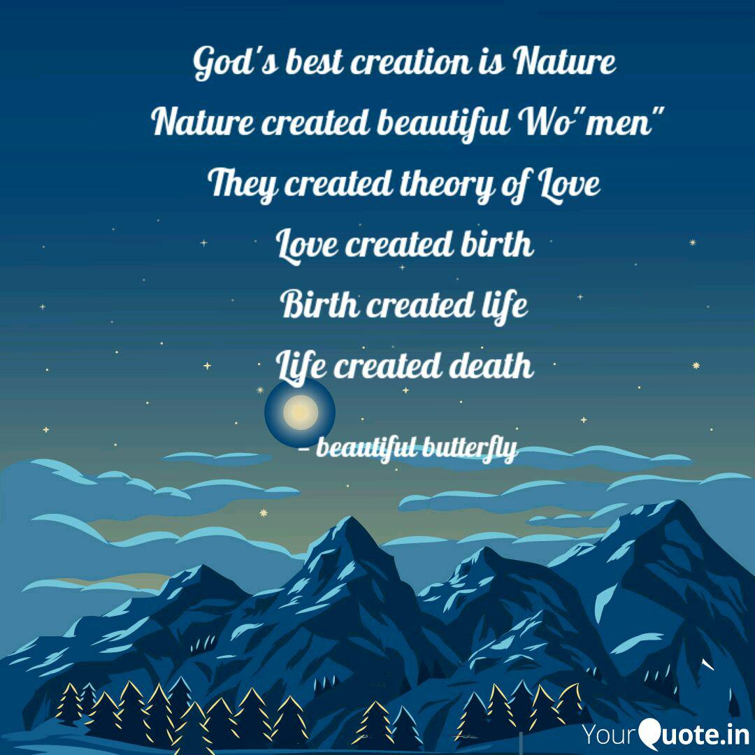 god s best creation is na quotes writings by shaik