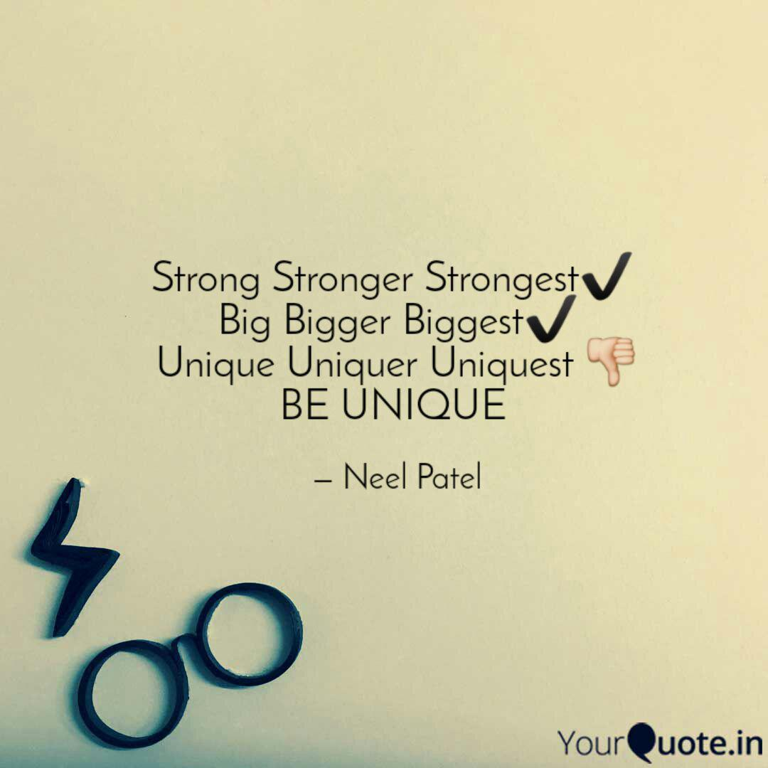 Strong Stronger Strongest...   Quotes & Writings by Neel Patel ...
