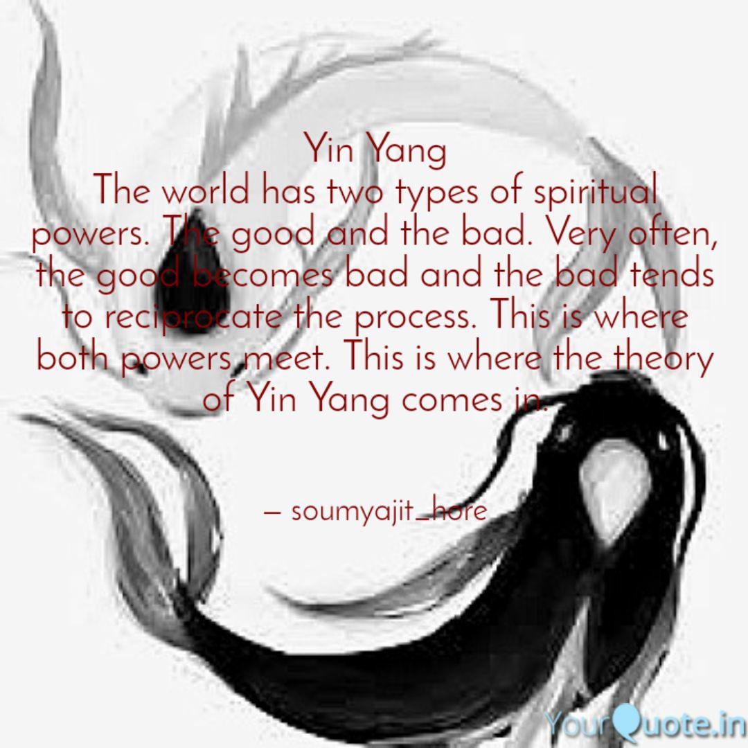 yin yang the world has tw  quotes  writings
