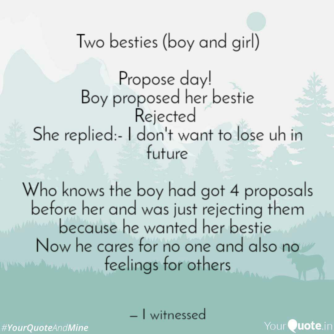I want to propose a girl quotes