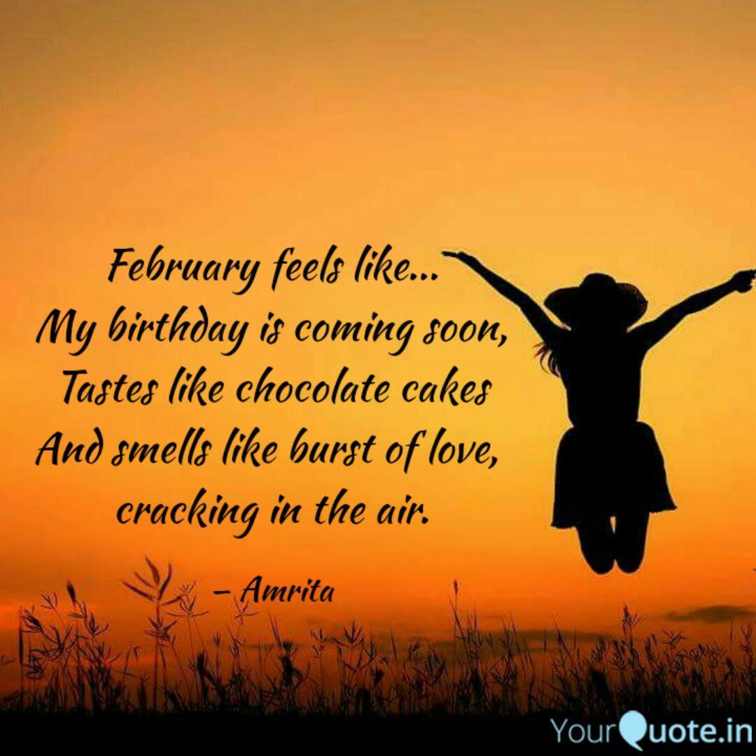 February Feels Like My Quotes Writings By Reeta Rai Yourquote