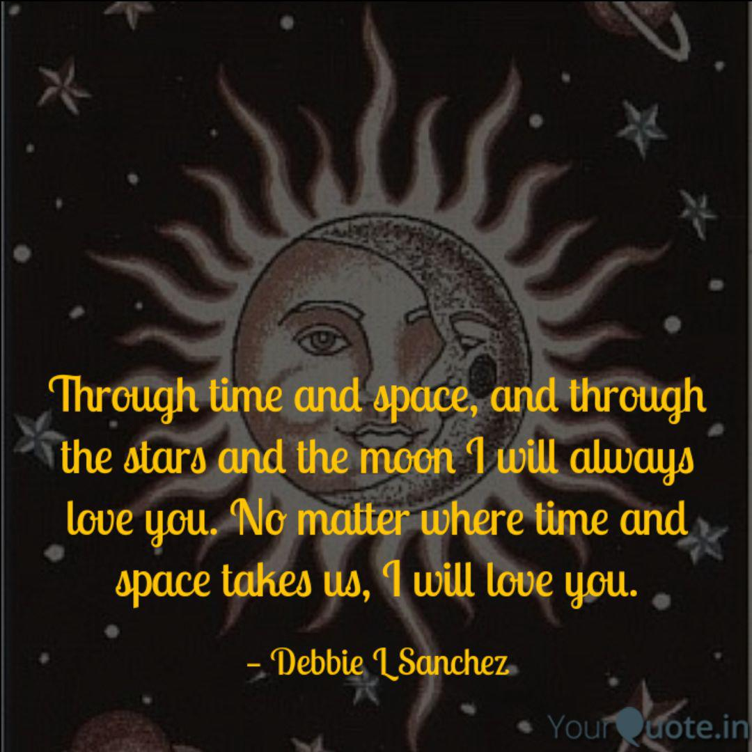 through time and space a quotes writings by debbie l