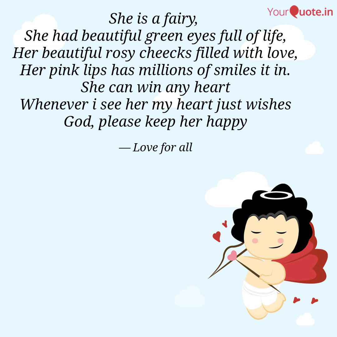 She is a fairy, She had ... | Quotes & Writings by Love Love ...