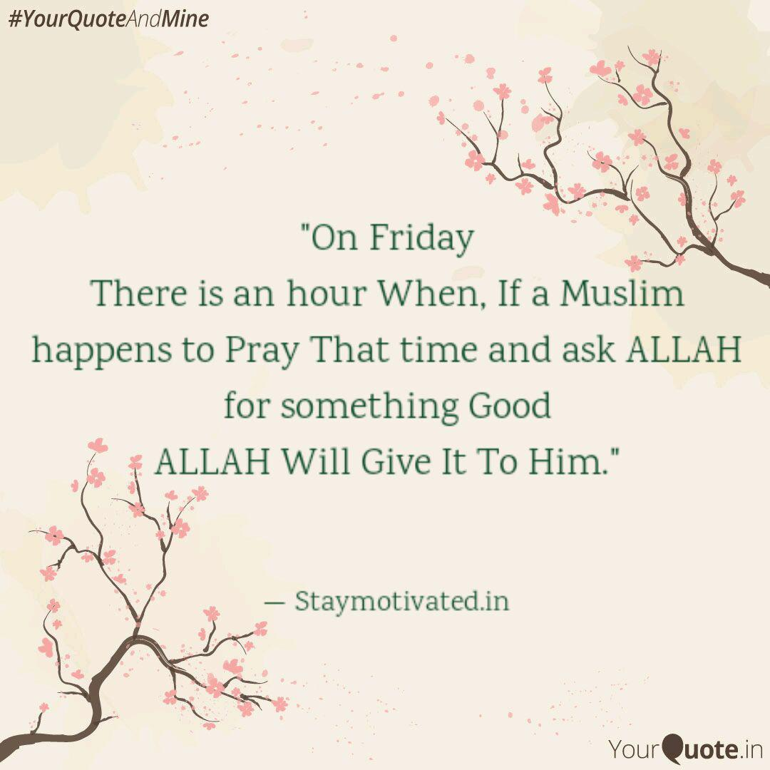 Image result for friday muslim quotes