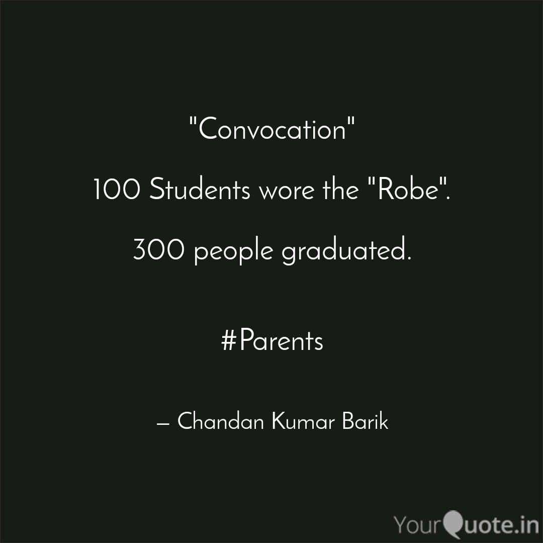 Best convocation Quotes Status Shayari Poetry & Thoughts
