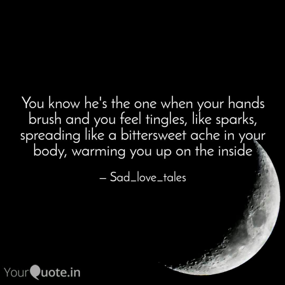 You know he\'s the one whe... | Quotes & Writings by Jasmine ...
