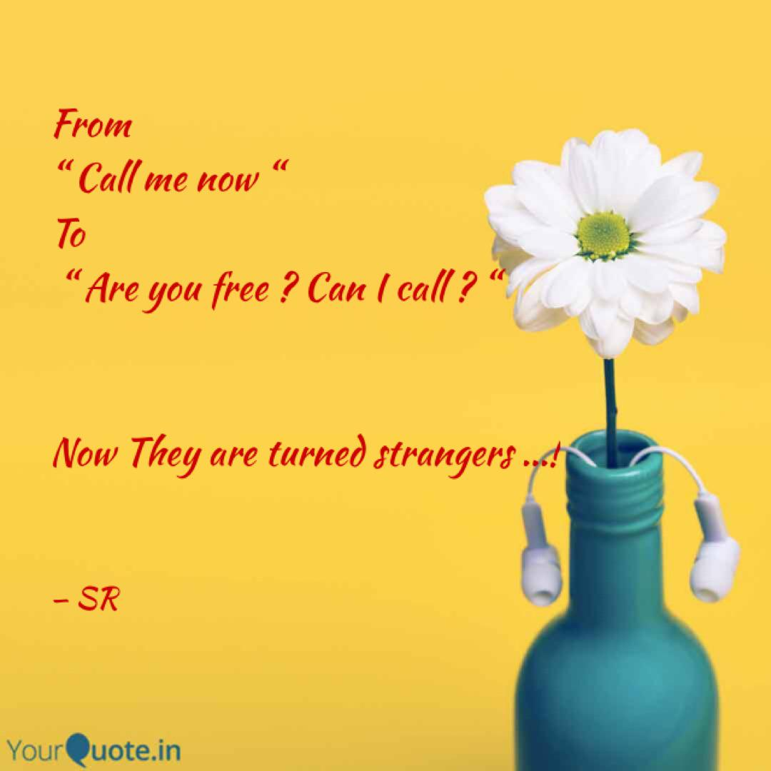 are you free now can i call you