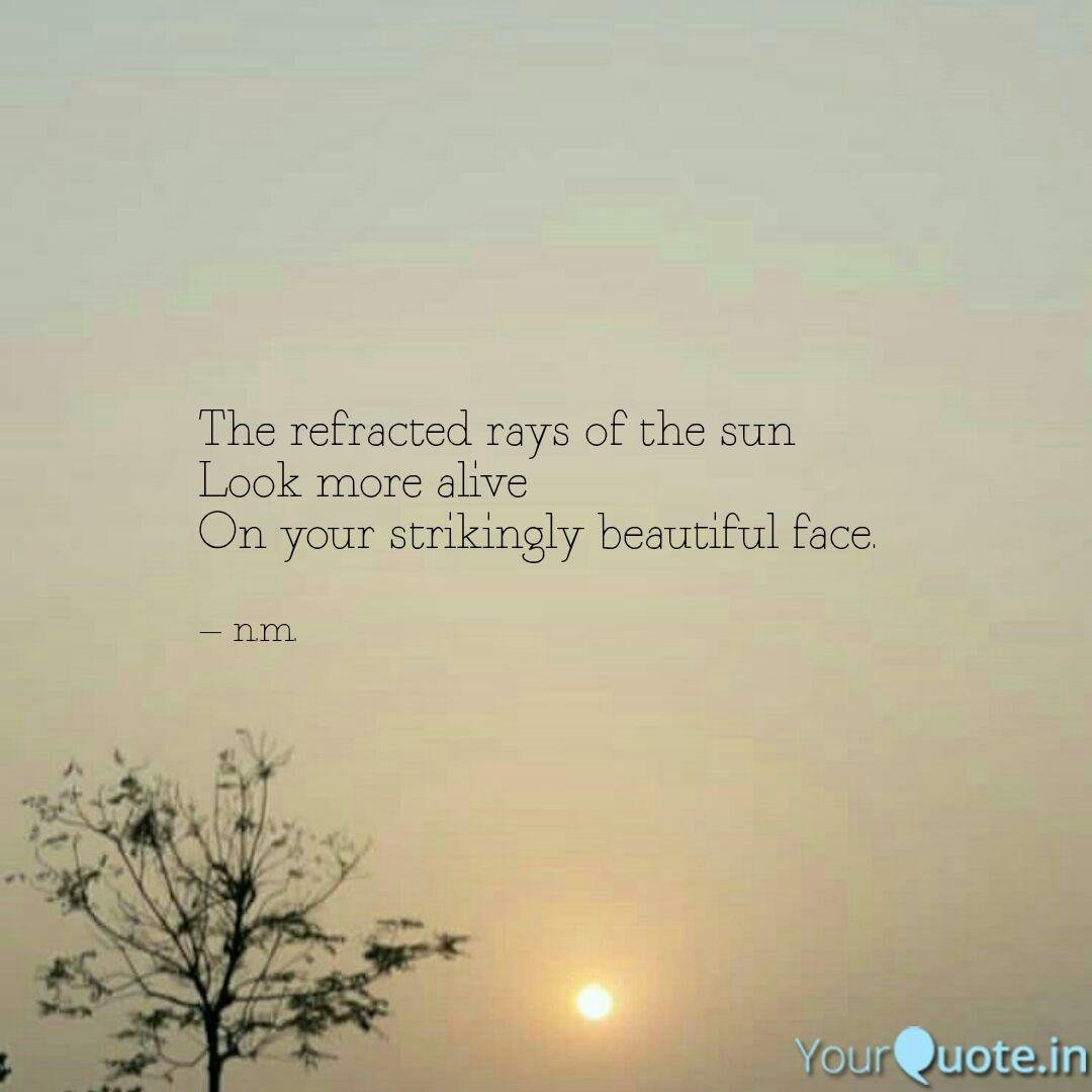 Best sunkissed Quotes, Status, Shayari, Poetry & Thoughts ...