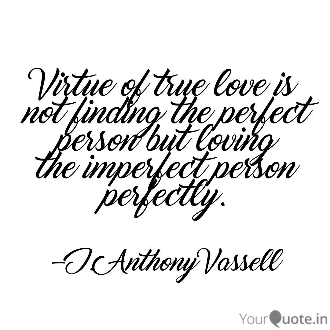 virtue of true love is no quotes writings by javante books