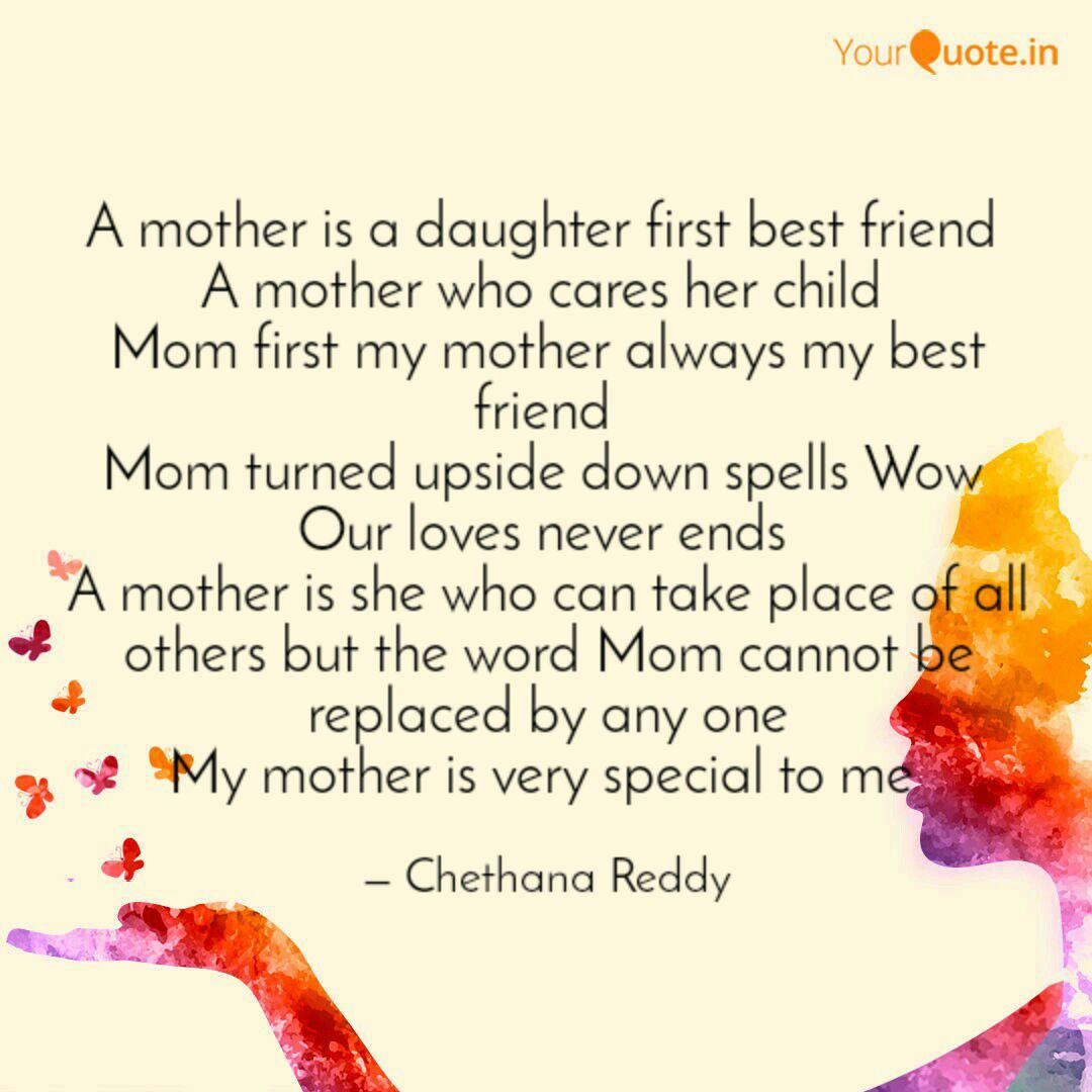 A Mother Is A Daughter Fi Quotes Writings By Chethu Baby