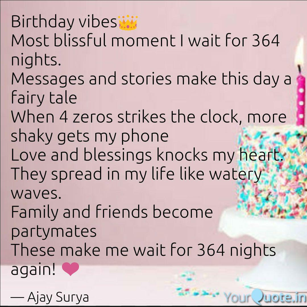 birthday vibes👑 most bli quotes writings by ajay surya