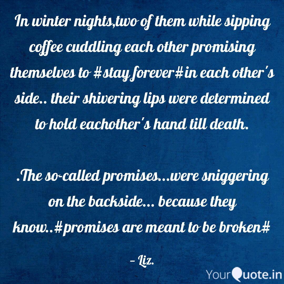 in winter nights two of t quotes writings by priyanka