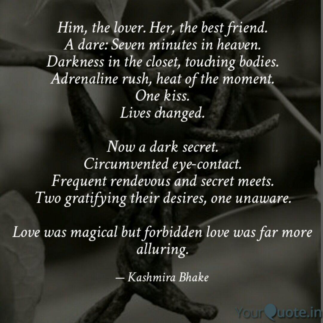Him, the lover. Her, the   Quotes & Writings by Kashmira Bhake