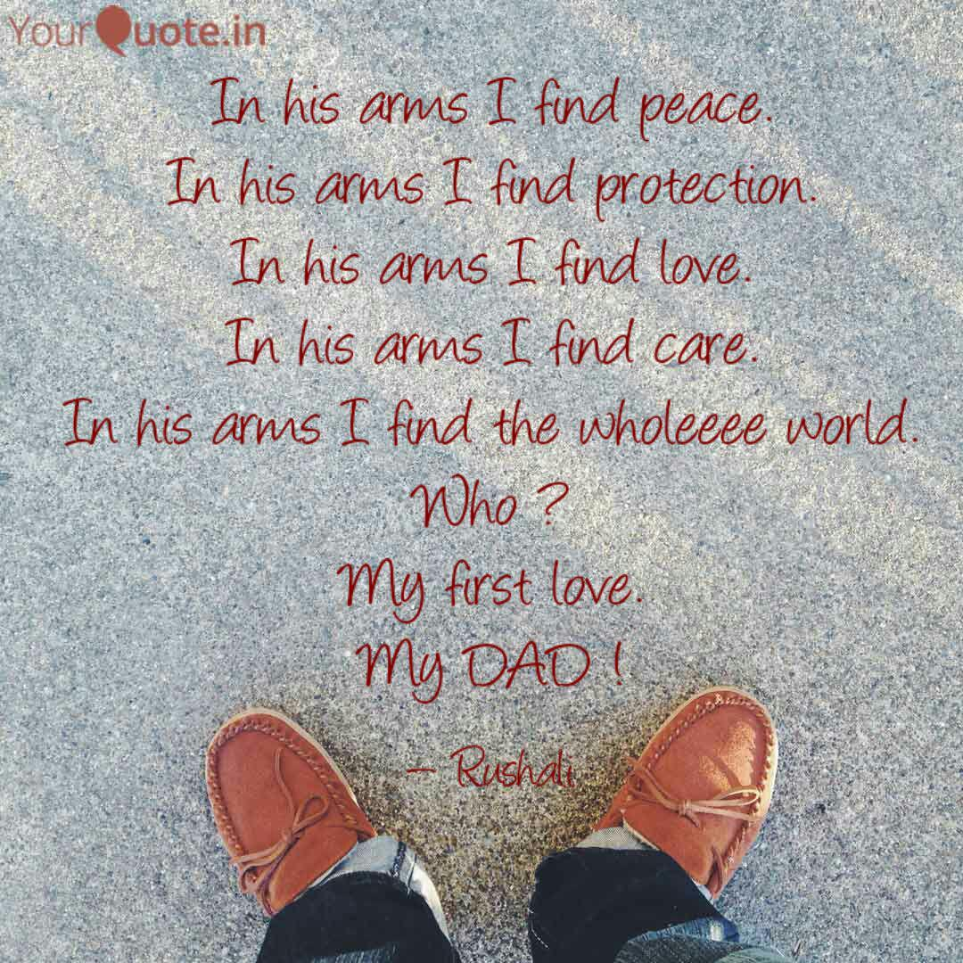 In his arms I find peace.... | Quotes & Writings by Rushali ...