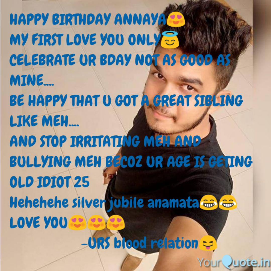 happy birthday annaya😍 m quotes writings by nikky