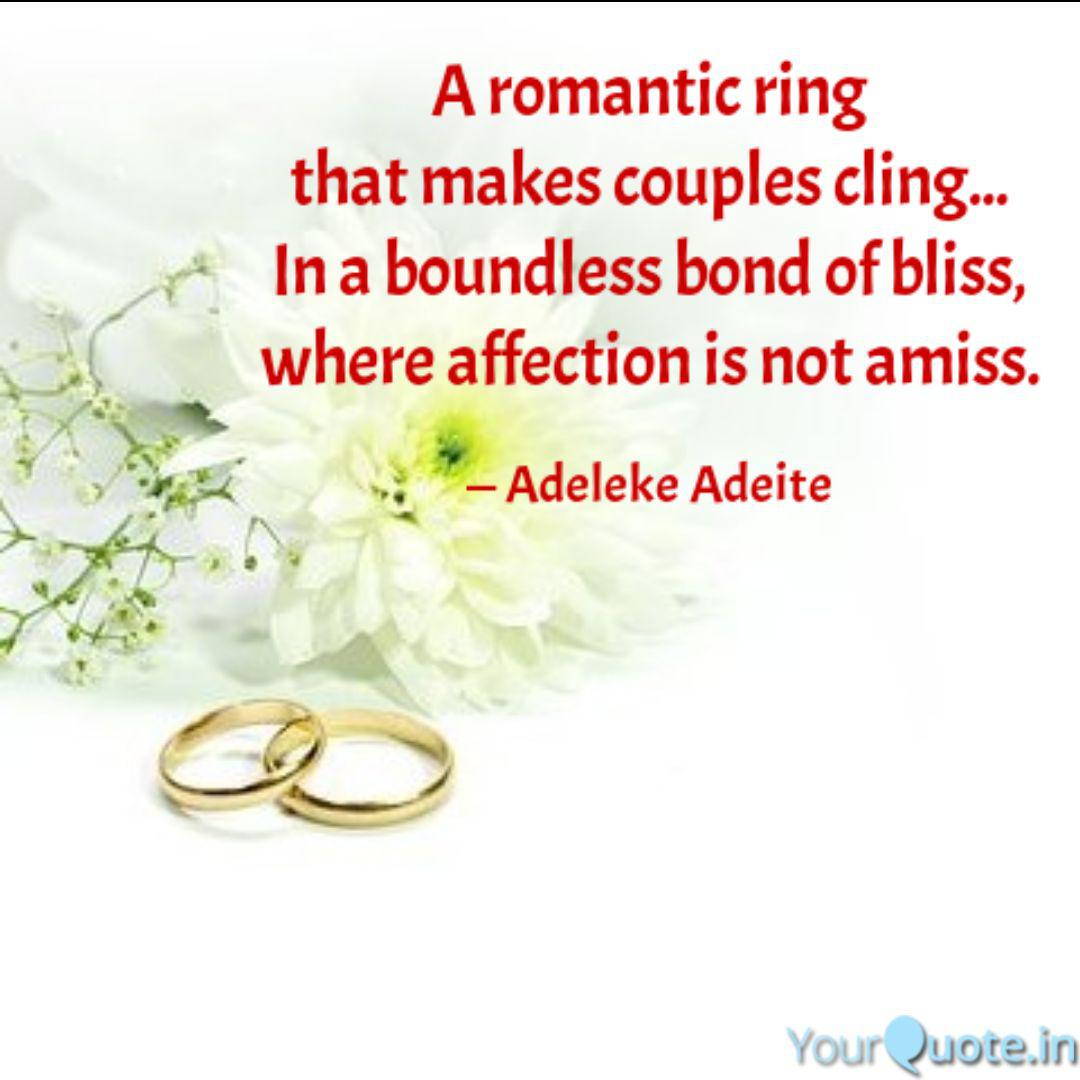 Best Weddingring Quotes Status Shayari Poetry Thoughts