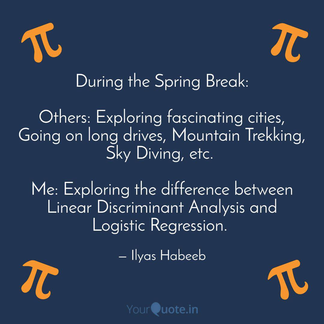 During the Spring Break: ... | Quotes & Writings by Ilyas ...