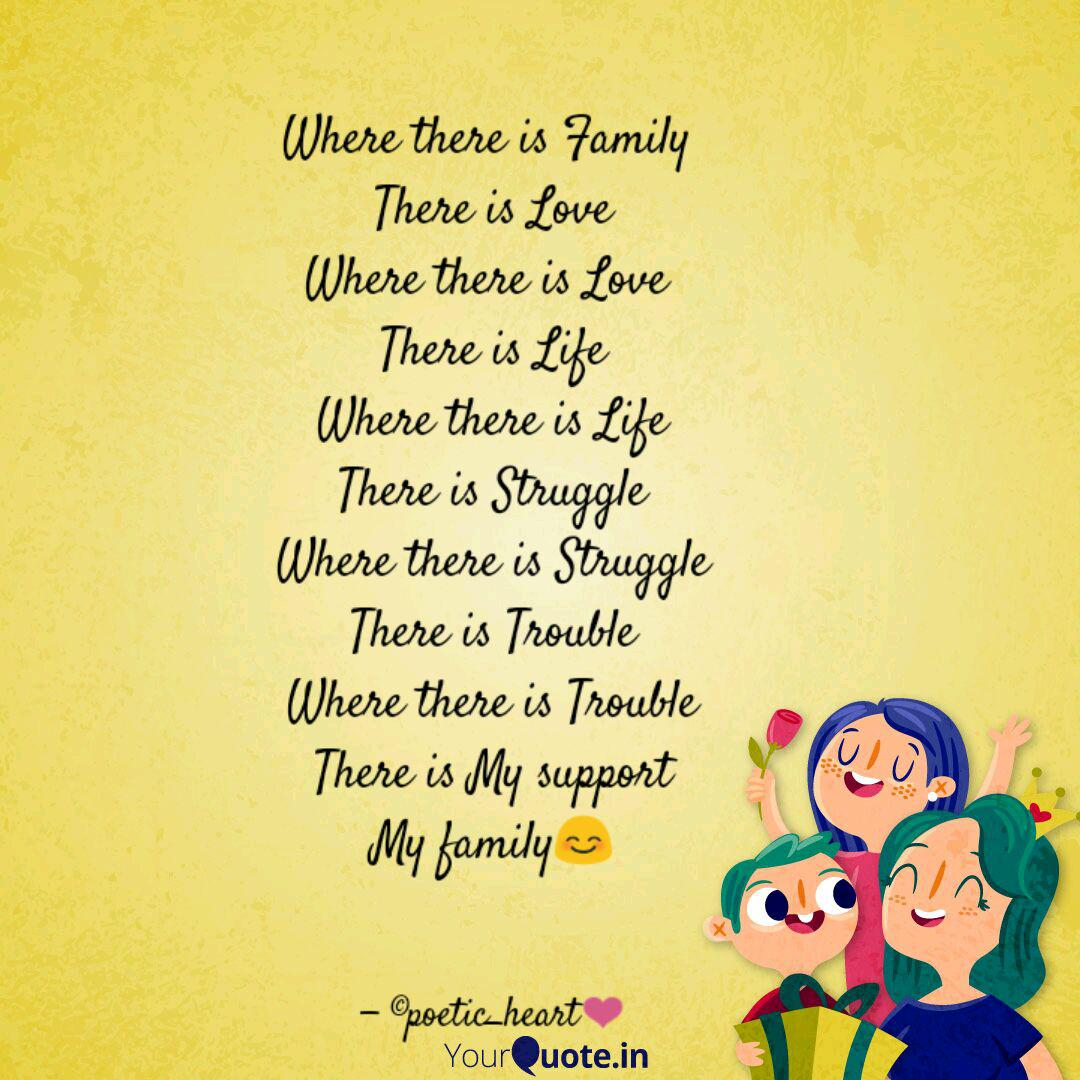 Where there is Family Th... | Quotes & Writings by Preeti ...