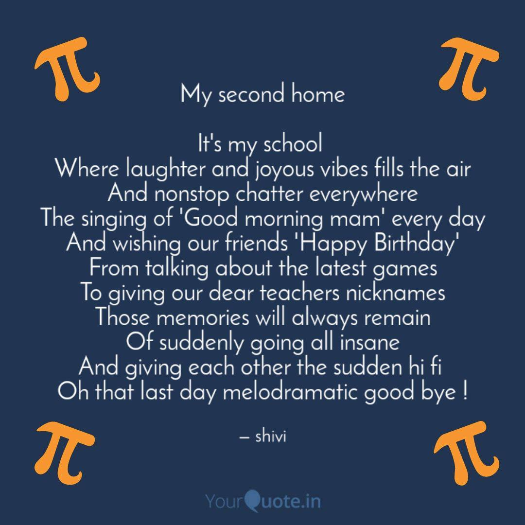 my second home it s my s quotes writings by shivika gupta